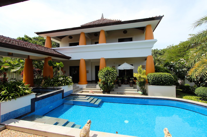 Bali Home For Sale - Pool and Bedroom Wing