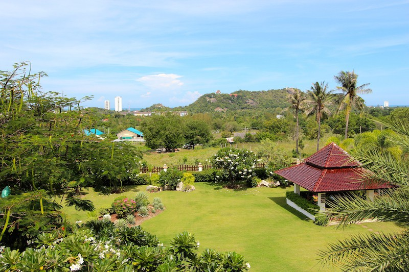 Bali Home For Sale - Office Balcony View