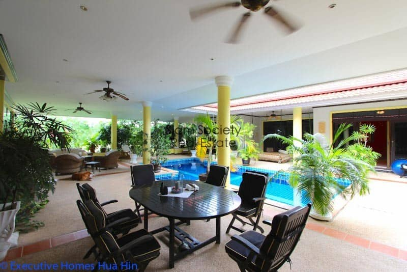 Palm Hills Home For Sale - Terrace Dining