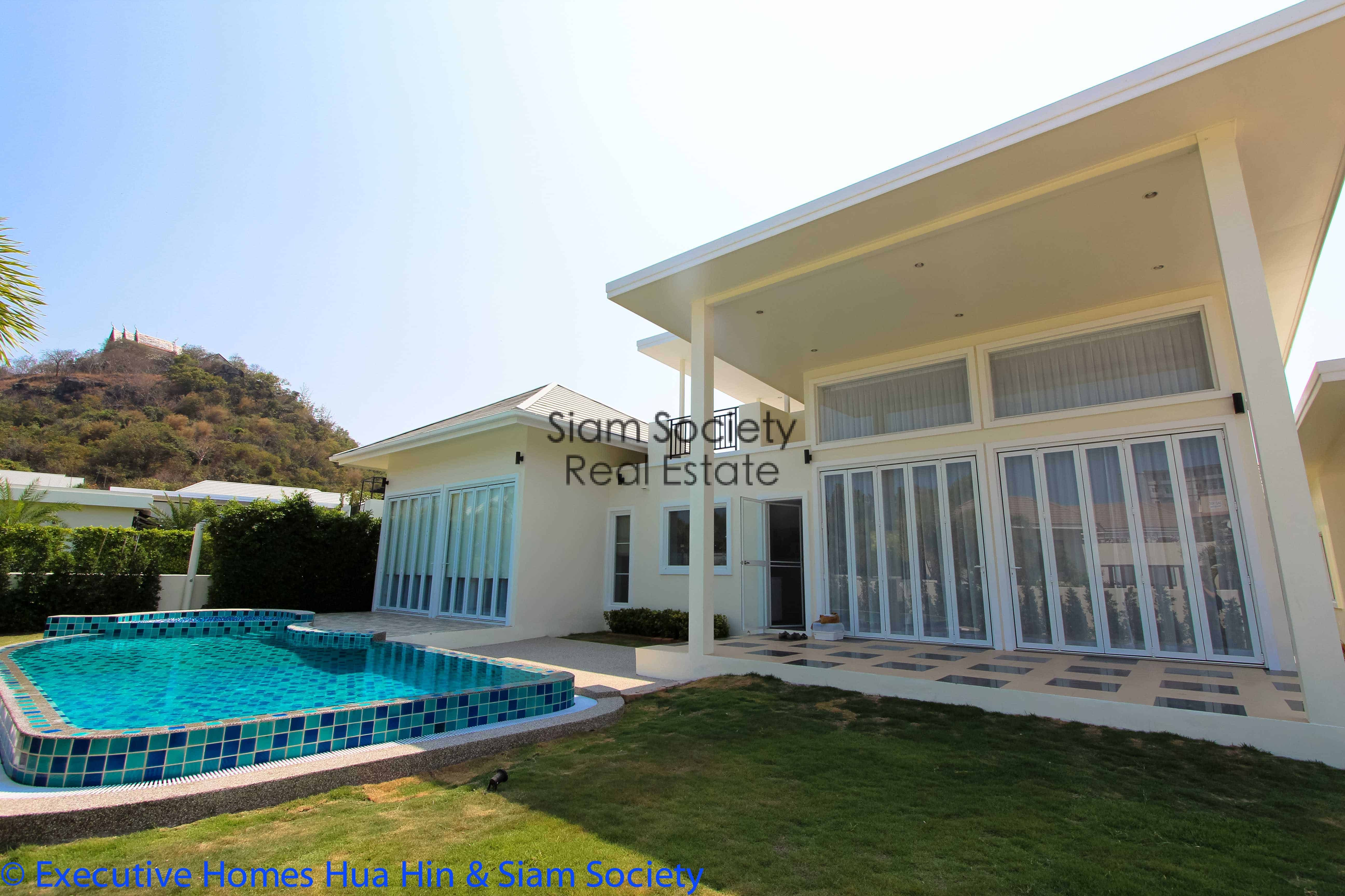 Private pool villa with guest house and rooftop terrace
