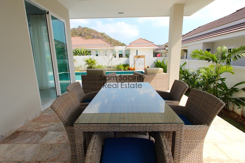 Red Mountain luxury house for rent Hua Hin