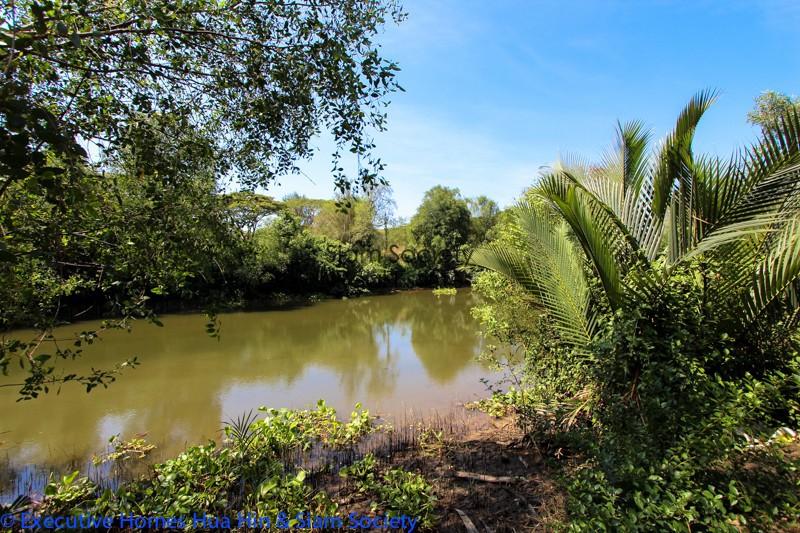 Riverside Villa for Sale In Pranburi