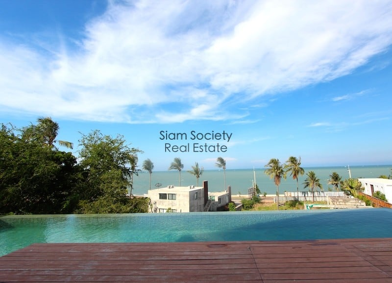Sea View from terrace pool