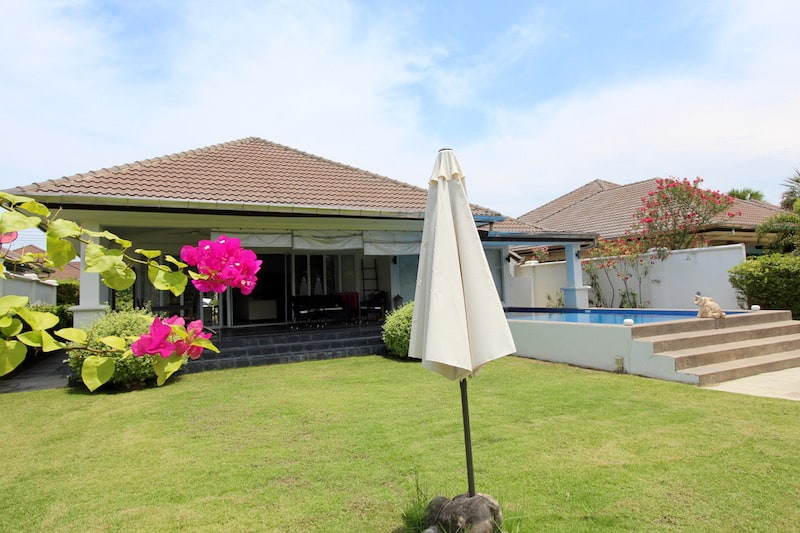 Hua Hin Pool Villa For Sale on Private lake