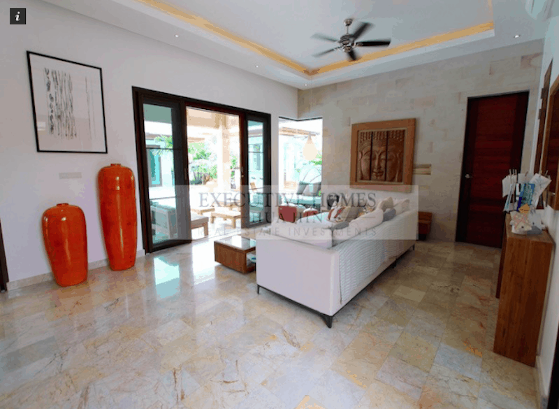 Custom Modern Bali Style Homes For Sale In Hua Hin & Pranburi