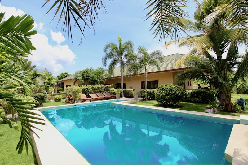 Private Pool Villas For Sale In West Hua Hin Thailand | pool
