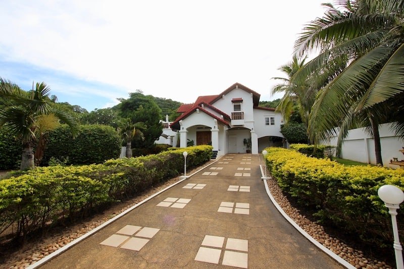 House On Hill With View For Sale In Hua Hin