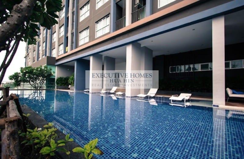 Hua Hin Studio Condo for Rent Town Center