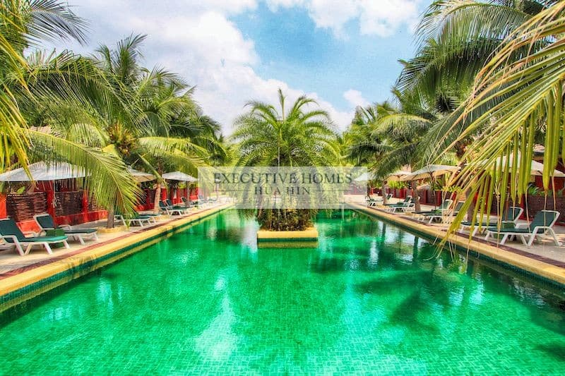 LUXURY LAKESIDE RESORT FOR SALE IN HUA HIN THAILAND 1