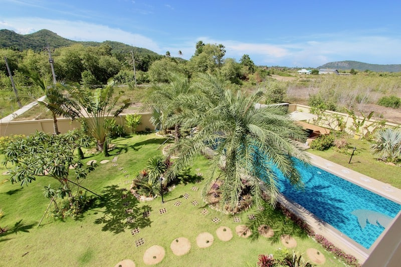 Luxury 4 bedroom villa with guest house for sale in Hua Hin   Luxury Homes for sale in Hua Hin & Pranburi   Hua Hin Real Estate Agents   Private estate with guest house + pool for sale with views   Property For Sale Hua Hin