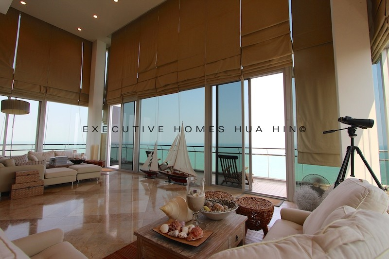 Hua Hin Penthouse Condo For Rent | Luxury Seaview Condos For Rent In Hua Hin Thailand | Vacation Property Rentals In Hua Hin Thailand | Hua Hin Vacation Rentals | Luxury Apartments For Rent In Hua Hin Thailand