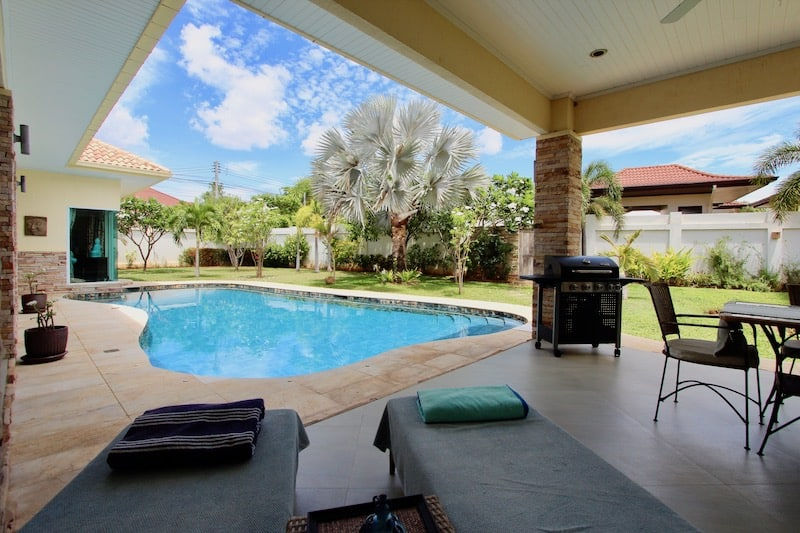 hana village home hua hin beach house for sale