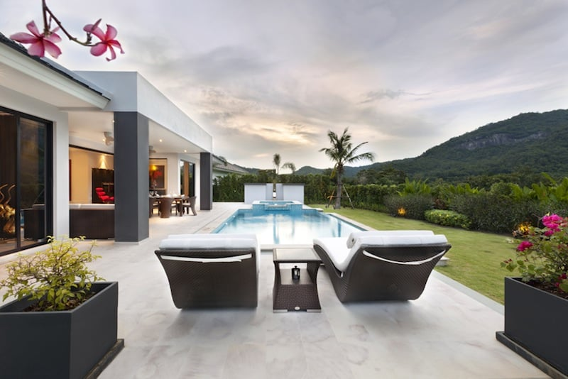 Baan Ing Phu hua hin custom built homes | Hua Hin Real Estate | luxury hua hin villas for sale | private luxury pool villas for sale hua hin