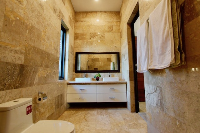 Inside Master Bathroom