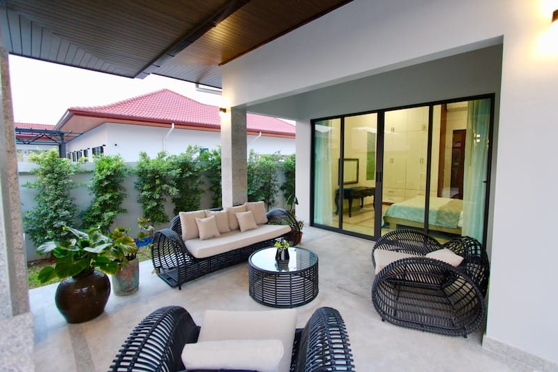 Outside Covered Terrace Patio Furniture