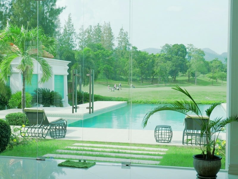 GOLF COURSE HOMES FOR SALE IN THAILAND