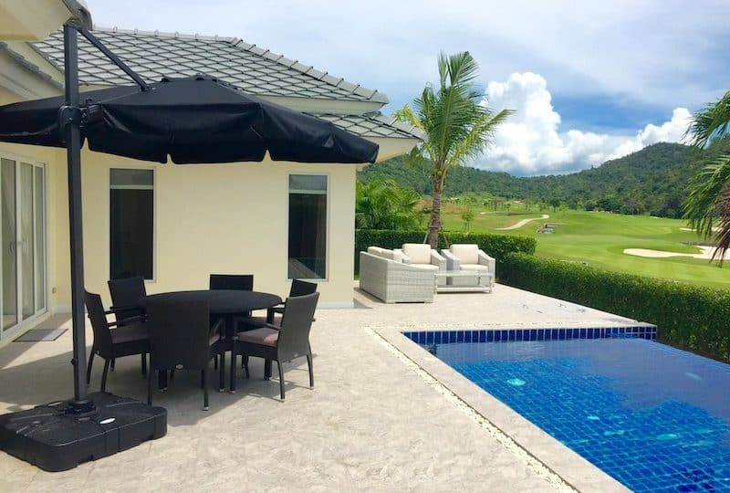 black mountain 3 bed pool villa for sale   Hua Hin real estate agents   hua hin property for sale   hua hin golf course house for sale