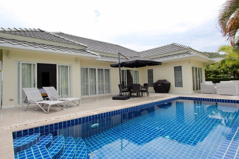 black mountain 3 bed pool villa for sale | Hua Hin real estate agents | hua hin property for sale | hua hin golf course house for sale