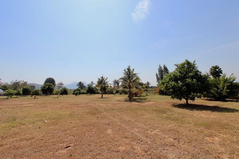 LARGE LAND PLOT FOR SALE KHAO KALOK GREAT VIEWS