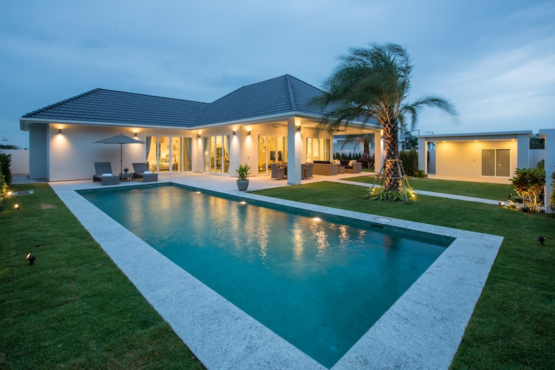 Baan phu thara eco friendly homes for sale in hua hin for Environmentally friendly homes for sale