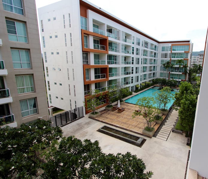 Two Bedroom Condos For Rent: Central Hua Hin 2 Bedroom Condo For Rent