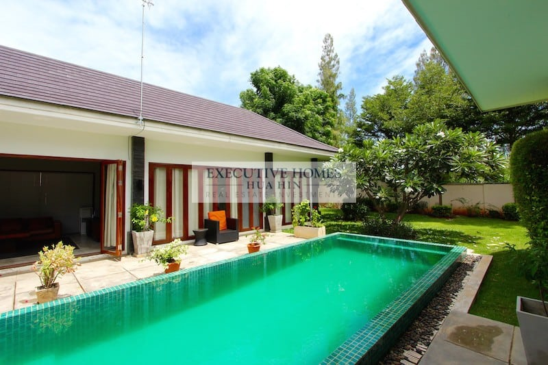 Modern well furnished hua hin house for rent hua hin for Modern house for rent